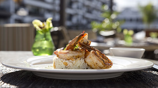 gourmet meals at Riviera Maya luxury resort
